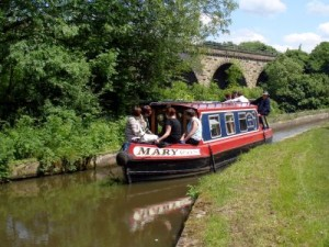 Day Hire Boat on the Peak Forest Canal