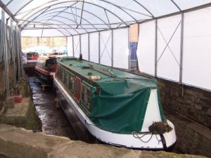 Dry Dock at Portland Basin Marina