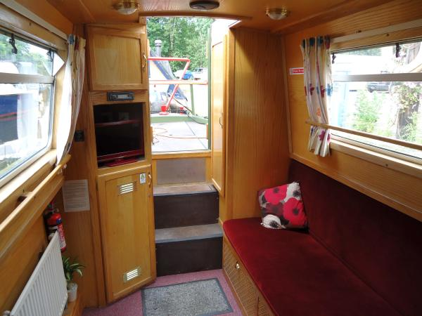 Evelyn Holiday Hire Boat interior